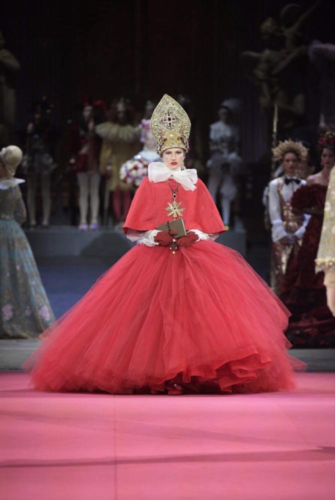 Paula for Dolce Gabbana