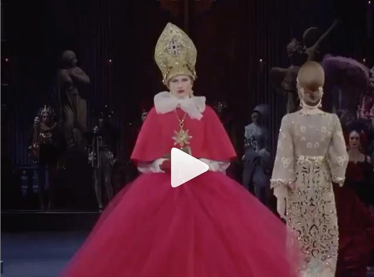 Paula Galecka for Dolce Gabbana