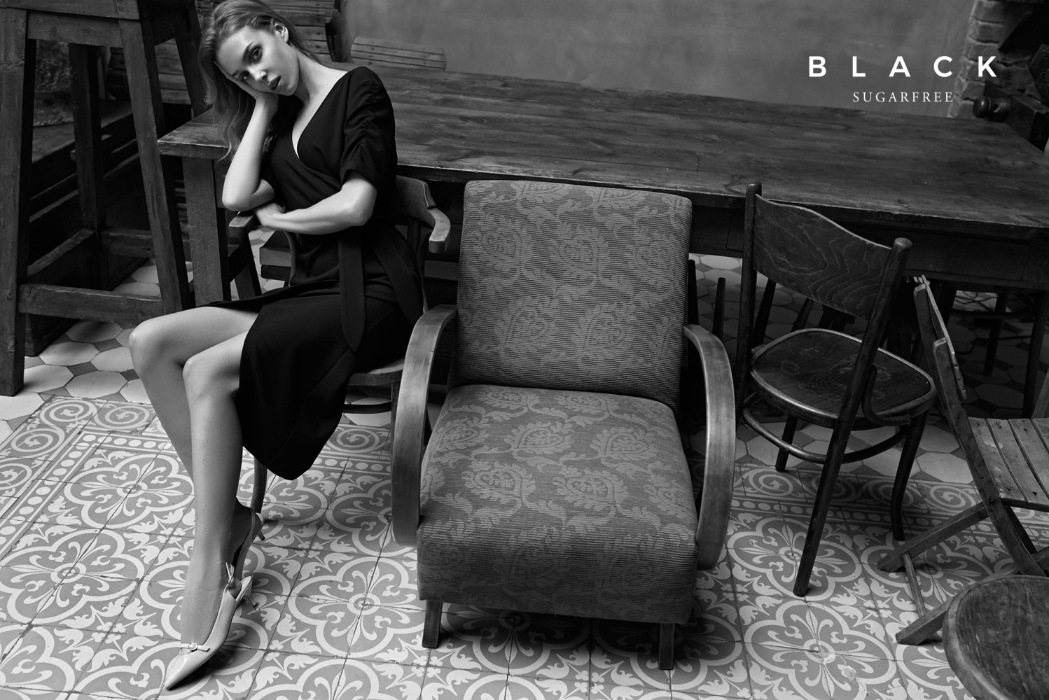 Malgosia G. for Sugarfree Black, Fall 2018