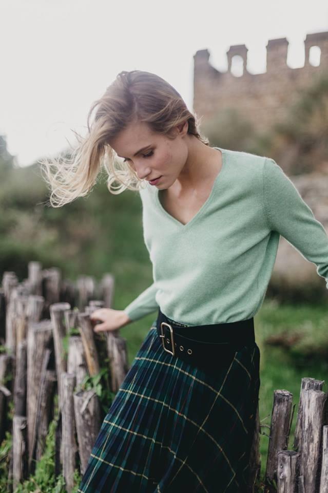 Marzena S. for AGAIN Cashmere, F/W 2018