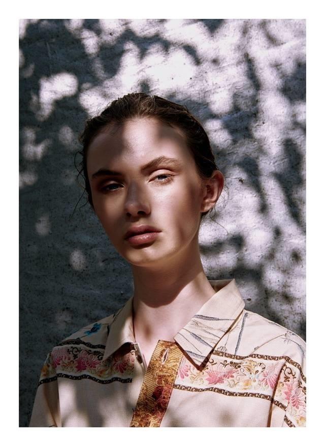 Julia Wieliczko for Pierre-Louis Mascia, S/S 2019
