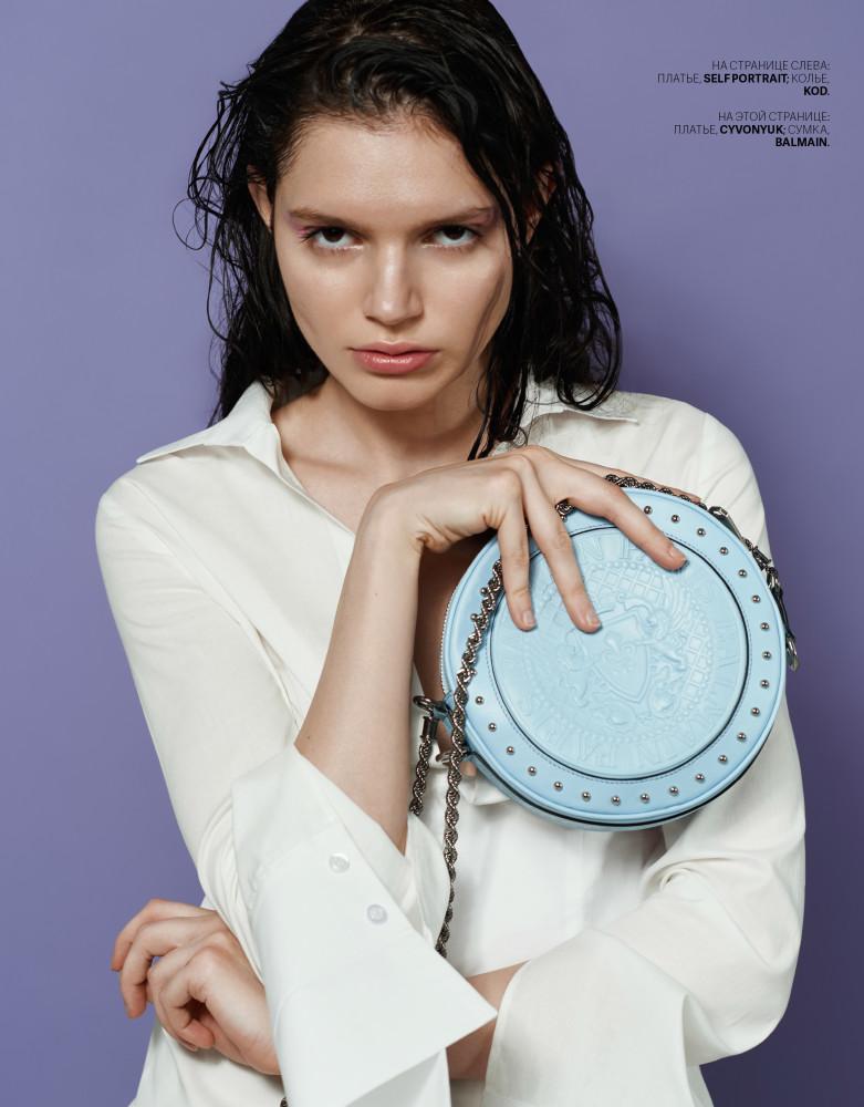 Lila Poter for Cosmopolitan Kazakhstan