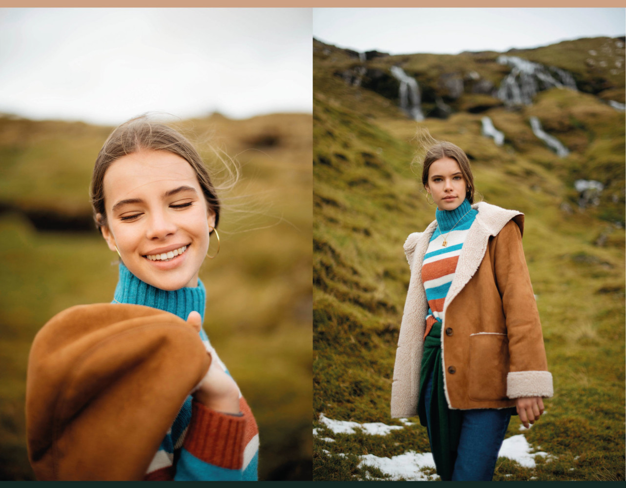 Brownie New campaign with Wiktoria F.