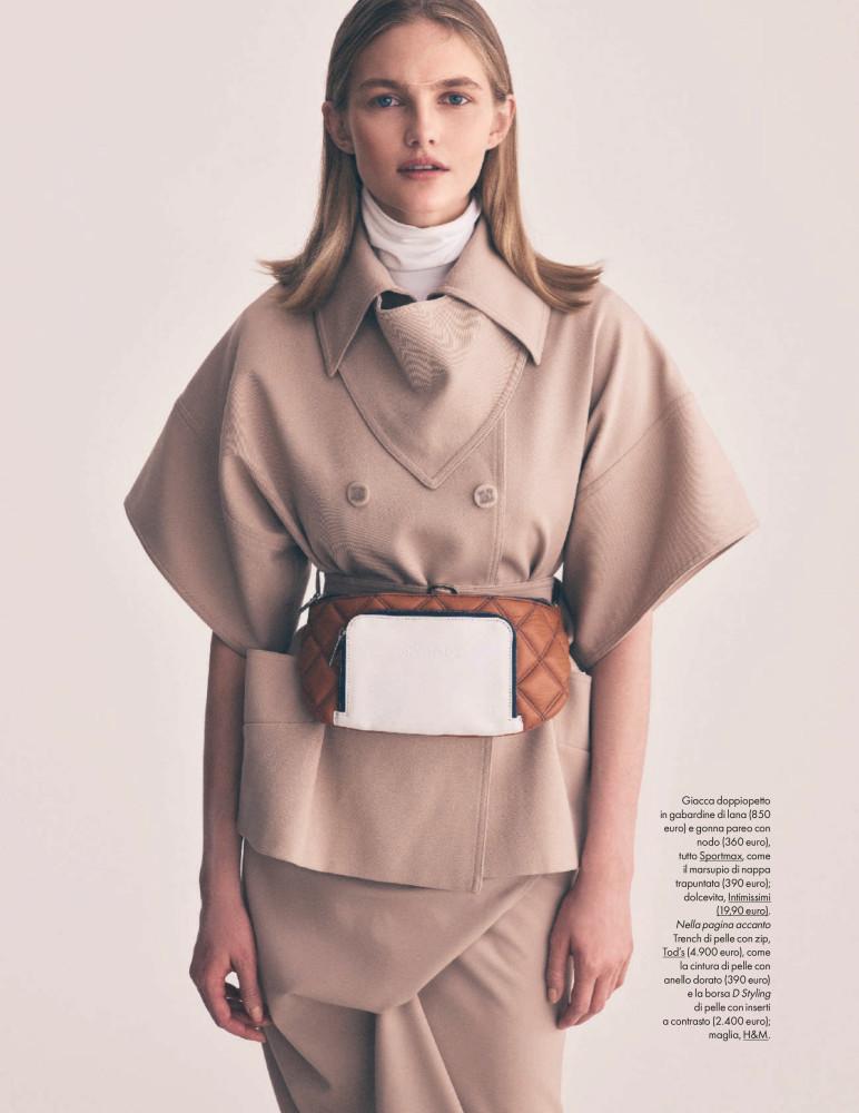 Aneta Pajak / Elle italy, April 2019