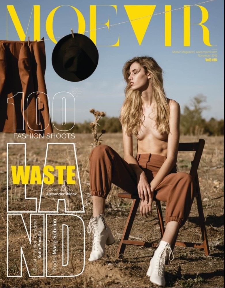 MARIA S for Moevir Magazine