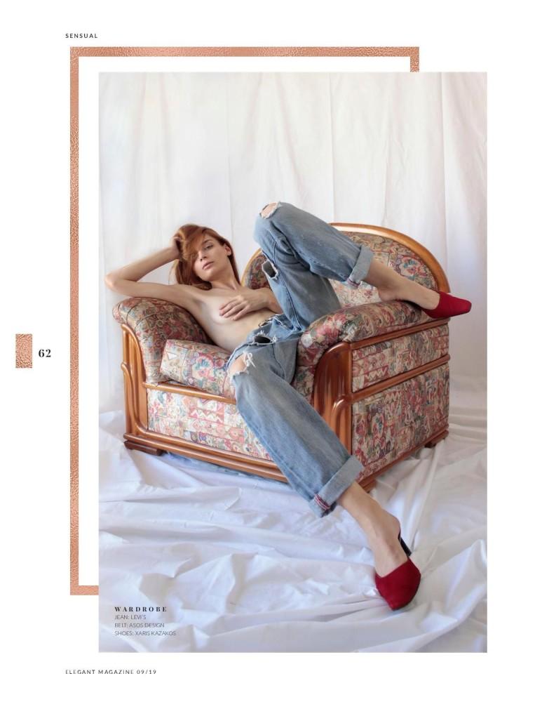 Amalia for Elegant Magazine