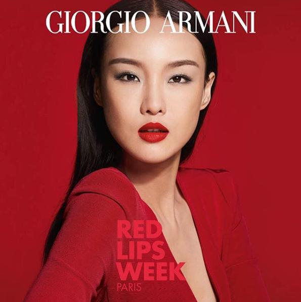Gia Tang - Armani beauty