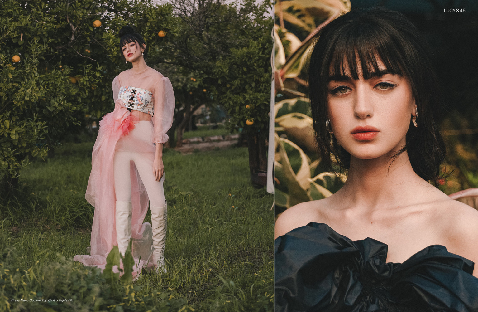 STUNNING SHAKED for LUCY'S MAGAZINE