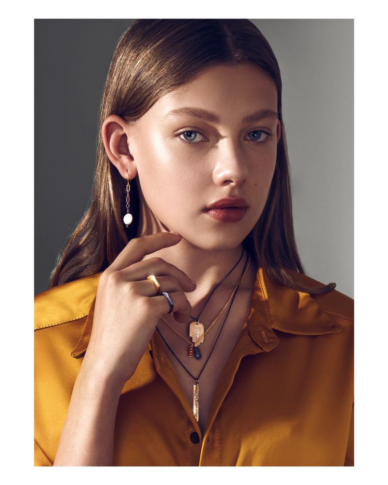 NICOLE SKALT for MIRO Jewelry 2021/ shot by Yarden Gal Yam