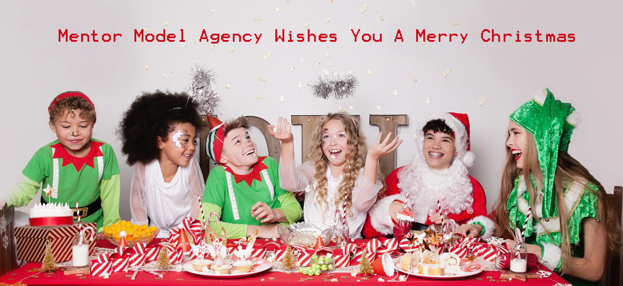 Mentor Model Agency's 2017 Christmas Card is here!