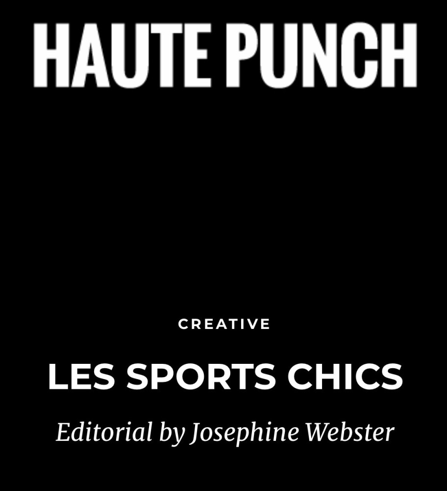 Harriet Webster Featured in Haute Punch Editorial