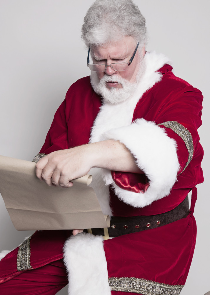 Now Representing Santa Claus