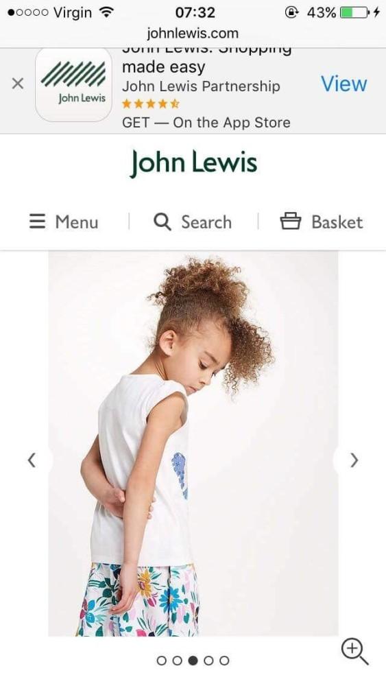 John Lewis Models Cione & Jack