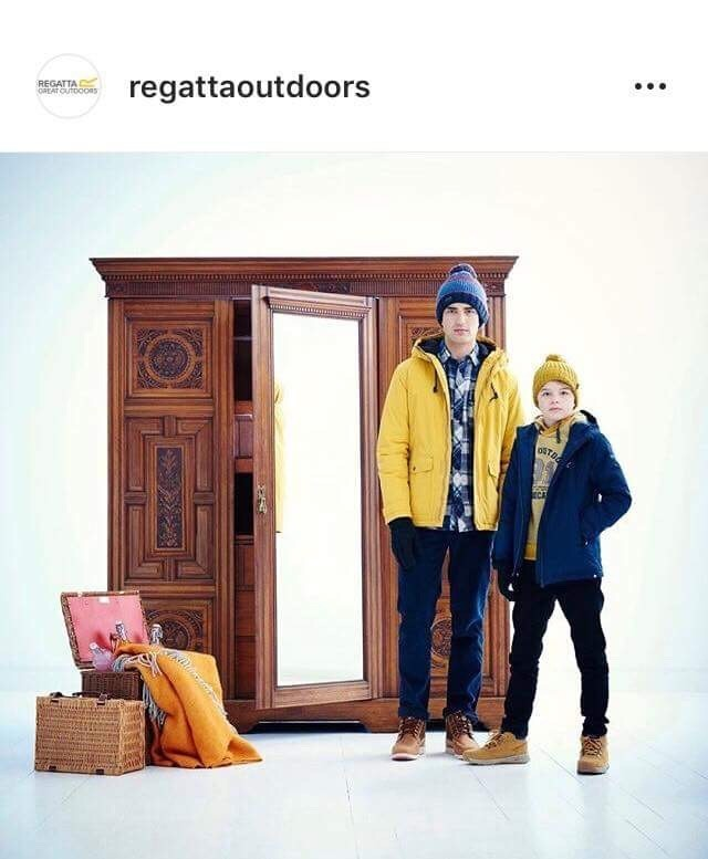 Regatta New Season AW18 Now Out Featuring Models Bella & Will