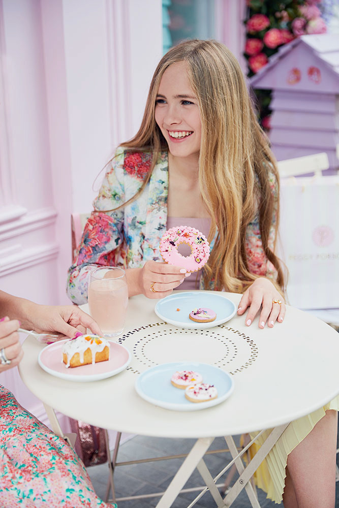 Peggy Porschen Photo shoot For Model Harriet Webster
