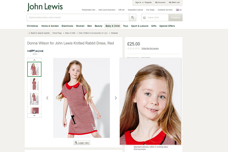 John Lewis Kids Photoshoots