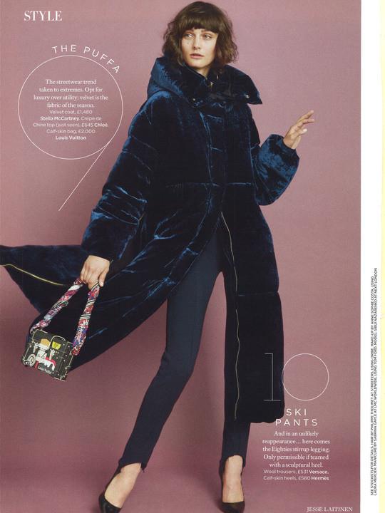 Sibui Nazarenko For Harper's Bazaar by Jesse Lattinen