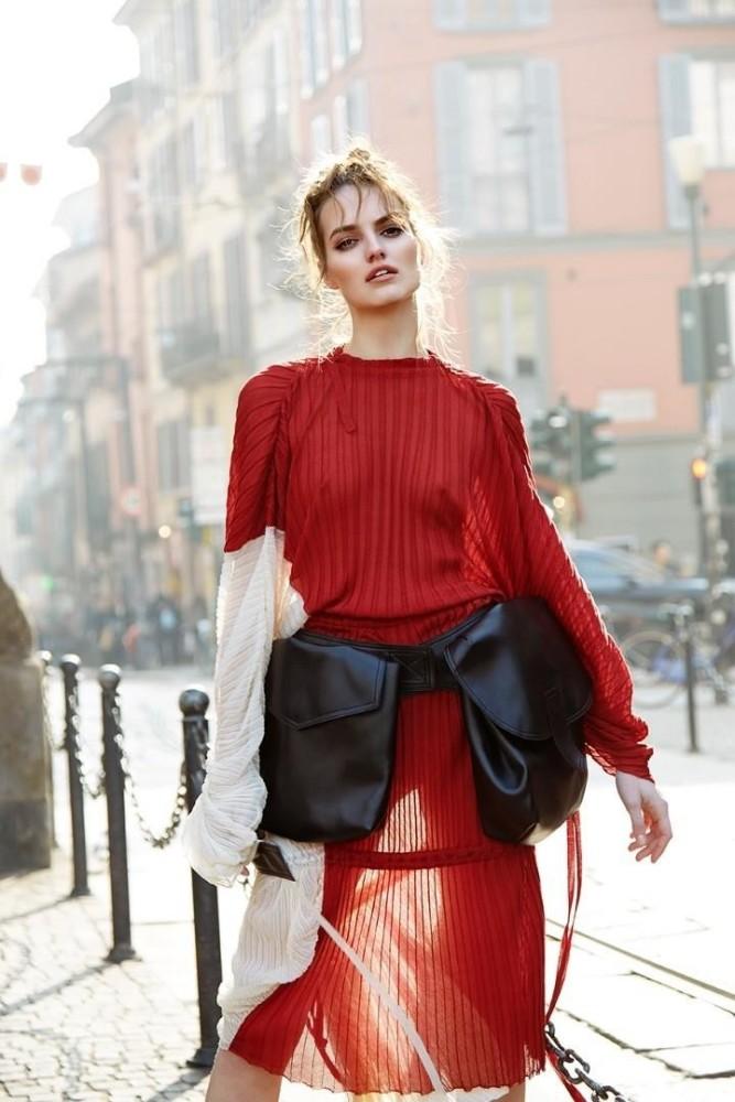 Agne Konciute for Elle Croatia