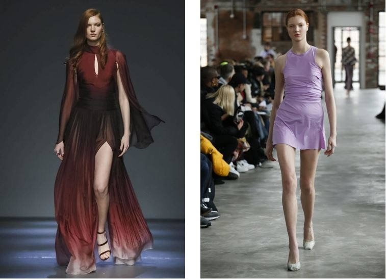 Anastasia Ivanova in New York Fashion Week FW/18