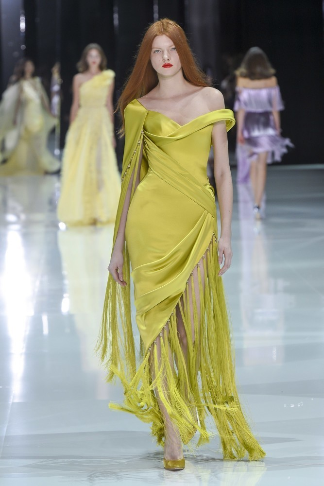 Anastasia Ivanova in Spring Couture SS/18