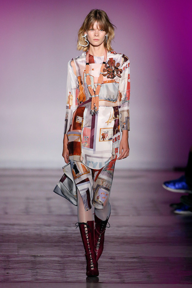 Irina Kravchenko in Mercedes Benz Fashion Week Madrid FW/18