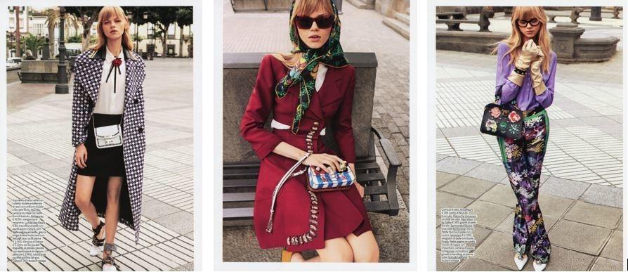 Kate Peshkova for lui magazine