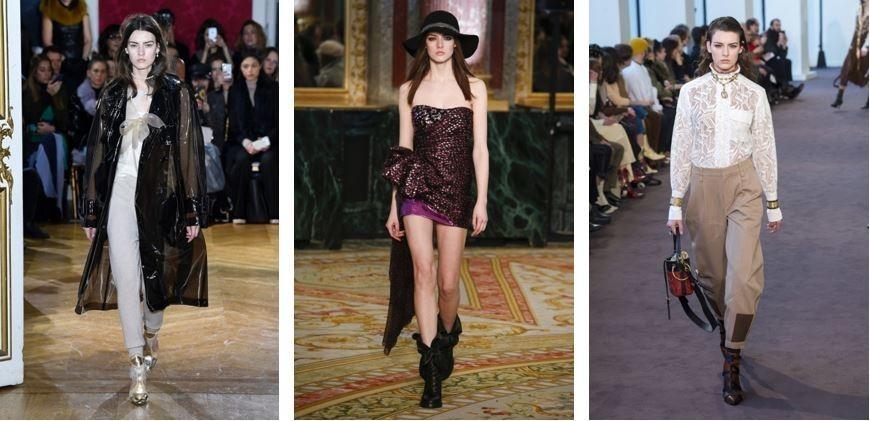 Marie Damian in Paris Fashion Week FW/18