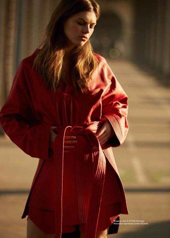 Zoe Gegout for cosmopolitan