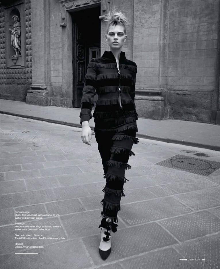 Zoe Gegout for wish magazine