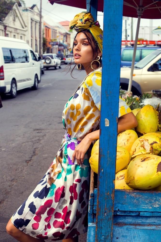 Livia Rangel for ELLE Magazine
