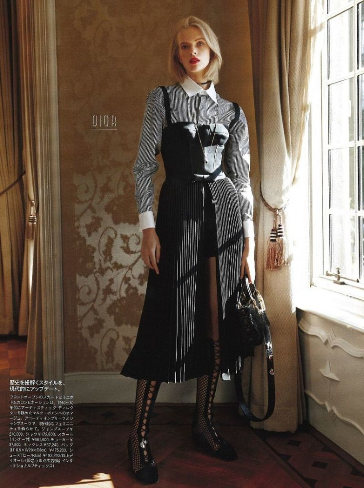 Alyona Subbotina for Madame Figaro Japan