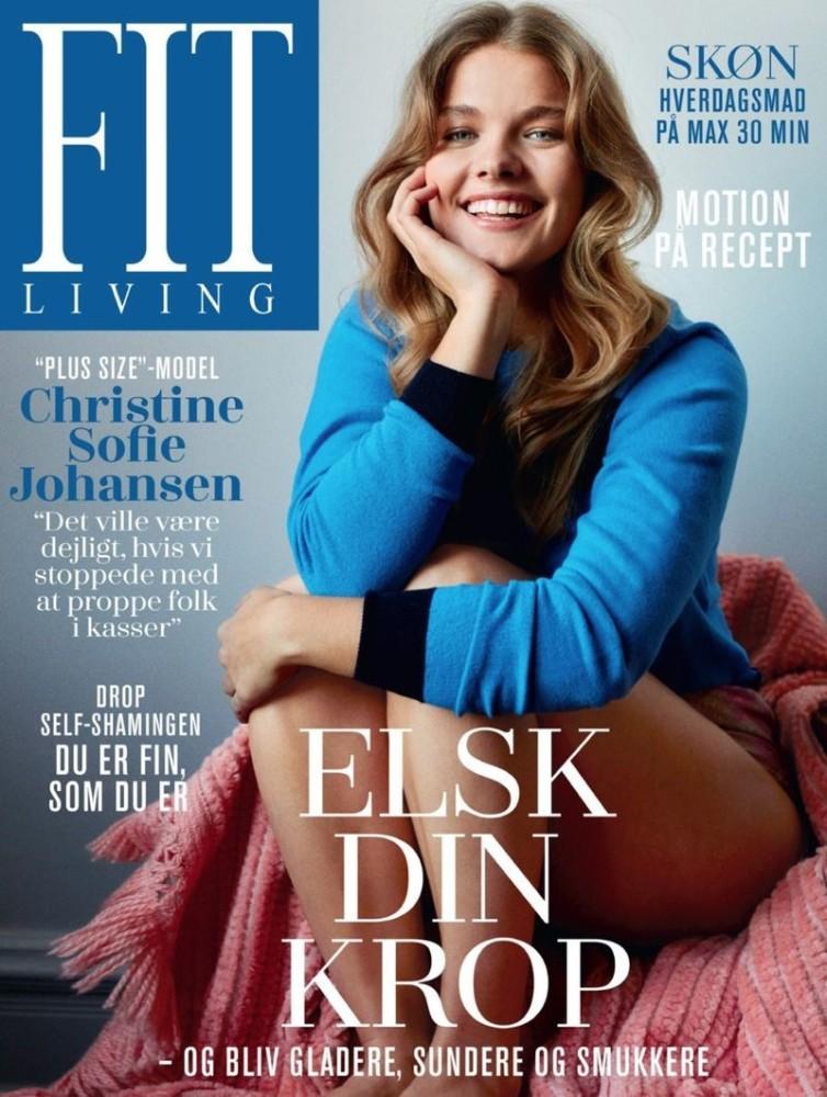 Christine Sophie Johannsen for Fit Living October 2017 Cover. Shot by Frederik Andersen