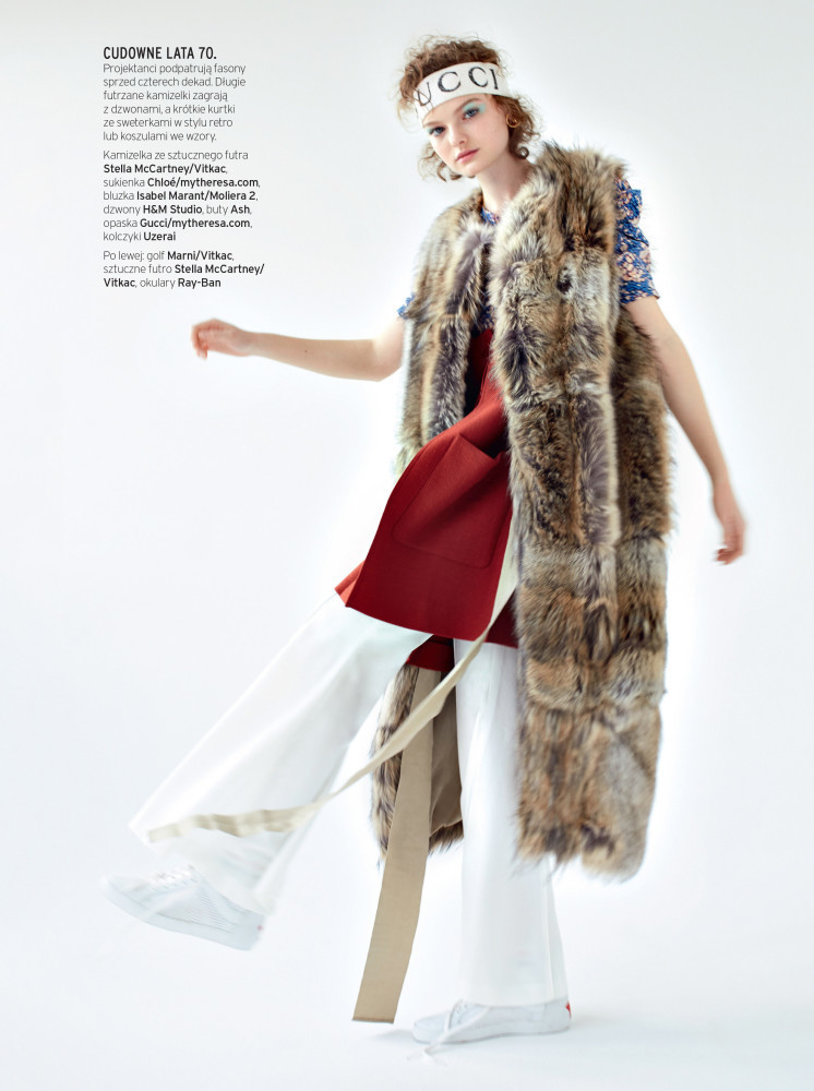 Ola Kursa for ELLE Magazine