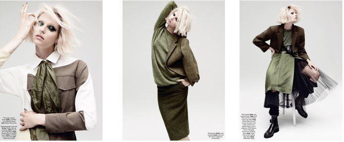 Egle Jezepcikaite for Marie Claire - At Ease