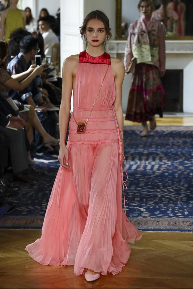 Paulina Frankowska for Valentino S/S 17 Show