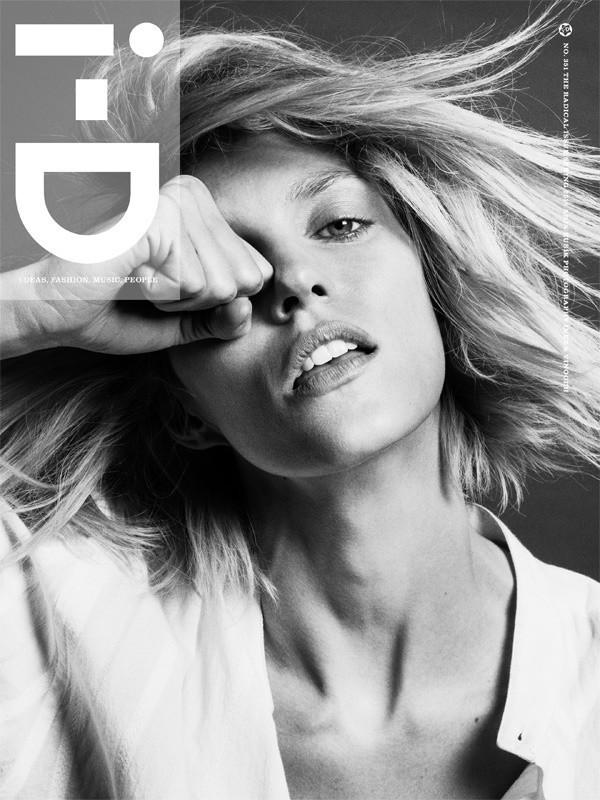 Anja Rubik for i-D Magazine