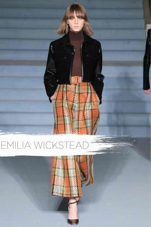 Margott Bialik for Emilia Wickstead F/W 15 Show