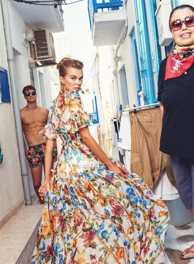 Darja Minenko for Dolce & Gabbana