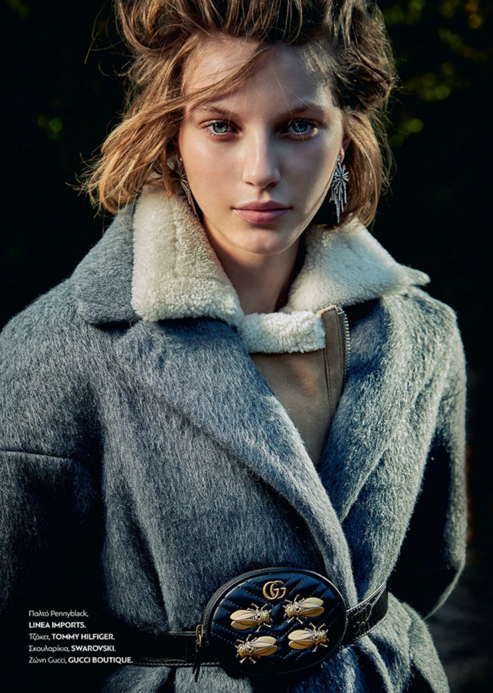 Daga Jez for Harper's Bazaar