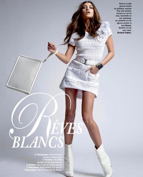 Albina Kireeva for Paris Capitale Magazine