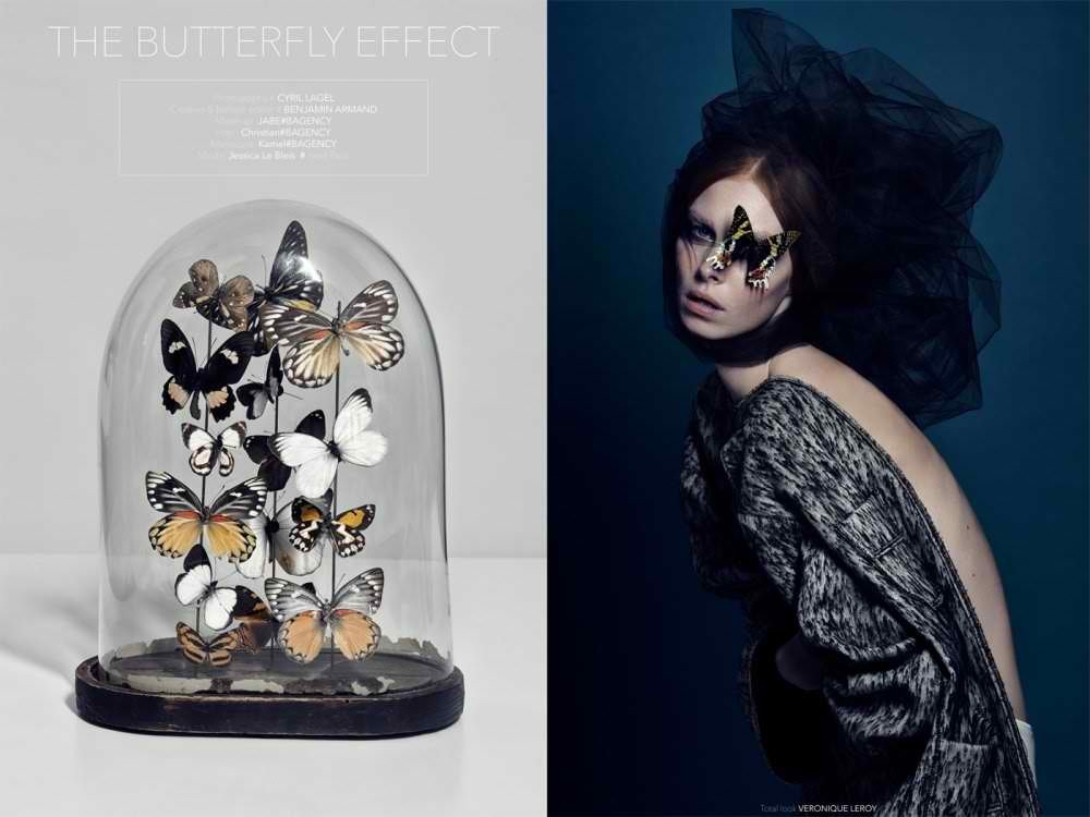 Jessica Le Bleis for Curiosity & Vanity The Butterfly Effect