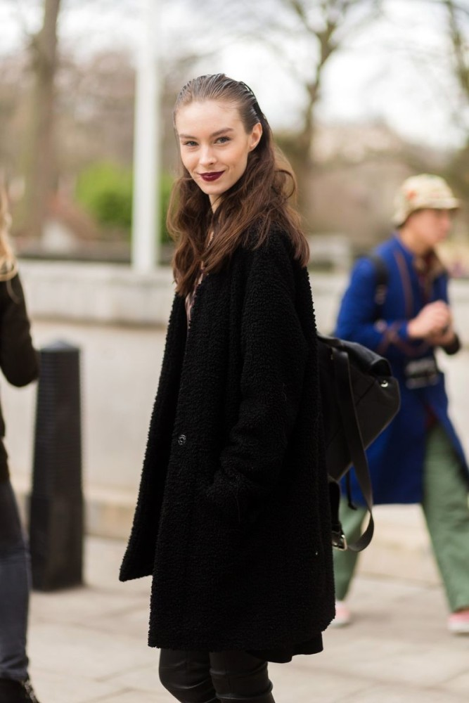 Jessica Le Bleis for LFW FW15 Street Style