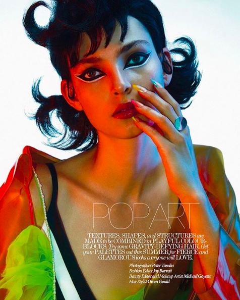Zhenya Migovych for Dress To Kill Magazine