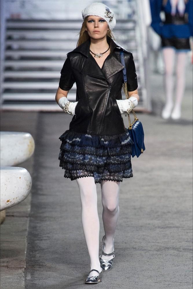 Ola Rudnicka for Chanel Pre-Spring 2019