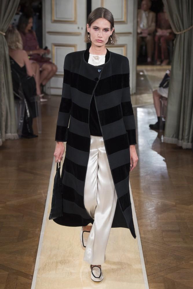 Paulina Kube for Giorgio Armani Prive Haute Couture F/W 2018-19