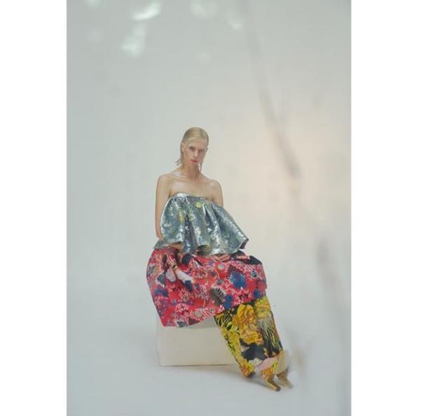 Alyona Subbotina for Marie Claire Magazine