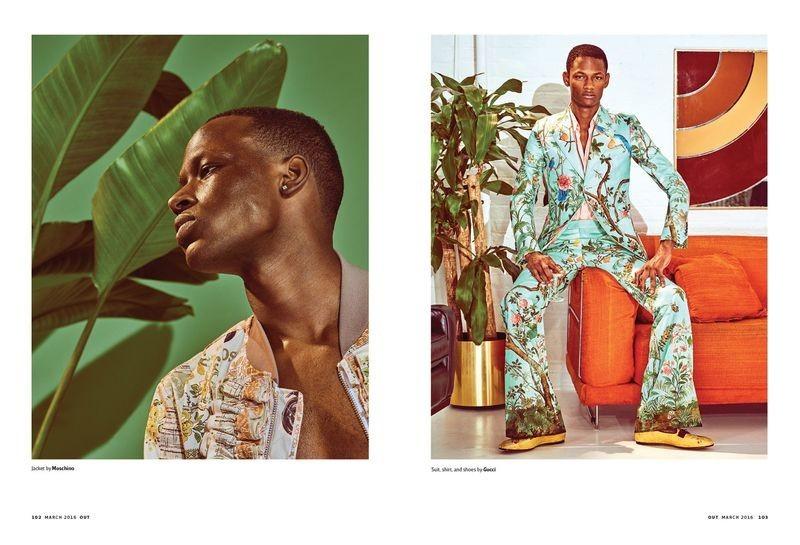 Emmanuel Amorin for Out Magazine