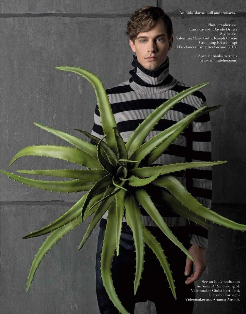 Greg Nawrat for Book Moda Man