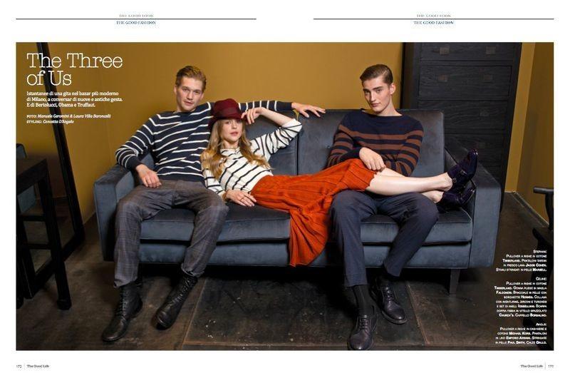 Stephan Haurholm for The Three of Us- The Good Life Italia