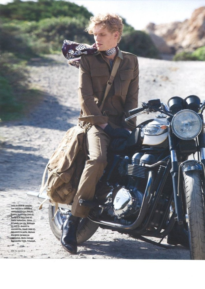 Stephan Haurholm for How To Spend It Magazine